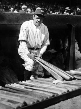 Babe Ruth by Globe Photos LLC