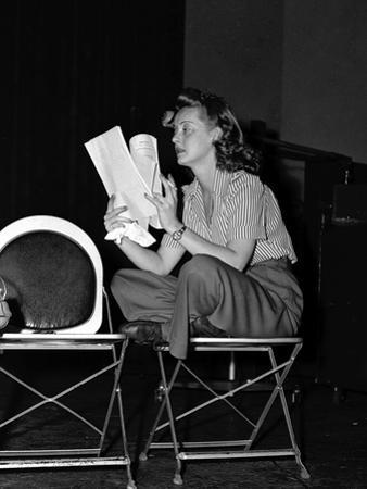 Bette Davis by Globe Photos LLC