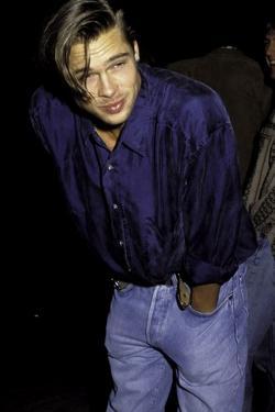Brad Pitt by Globe Photos LLC