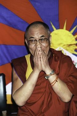 Dalai Lama by Globe Photos LLC