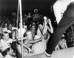 Elvis Presley by Globe Photos LLC
