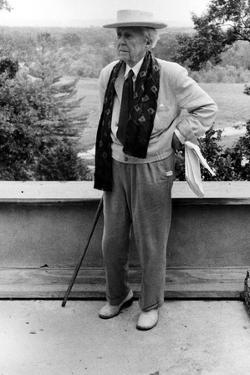 Frank Lloyd Wright by Globe Photos LLC