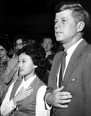 John F. Kennedy by Globe Photos LLC