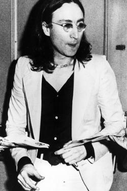 John Lennon by Globe Photos LLC