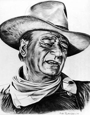 John Wayne by Globe Photos LLC