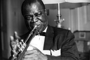 Louis Armstrong by Globe Photos LLC