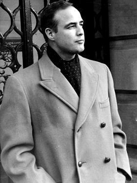 Marlon Brando by Globe Photos LLC