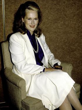 Meryl Streep by Globe Photos LLC