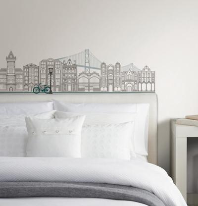 Globe Trotter Small Wall Art Decal Kit