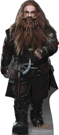 Gloin The Dwarf - The Hobbit Movie Cardboard Stand Up