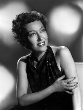 GLORIA SWANSON, 1950 (b/w photo)