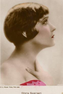 Gloria Swanson, American Actress and Film Star
