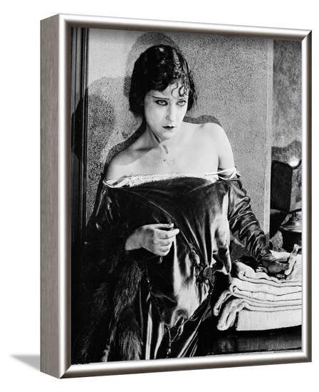 Gloria Swanson--Framed Photo