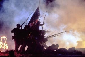 Glory (Pour la gloire) by EdwardZwick, 1989 (guerre by Secession) (photo)