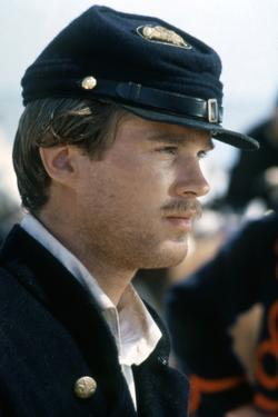 Glory (Pour la gloire) by EdwardZwick with Cary Elwes, 1989 (guerre by Secession) (photo)