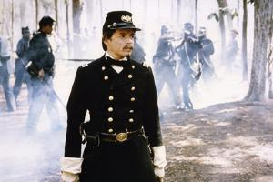 Glory (Pour la gloire) by EdwardZwick with Matthew Broderick, 1989 (guerre by Secession) (photo)