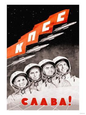 Glory to the Russian Cosmonauts