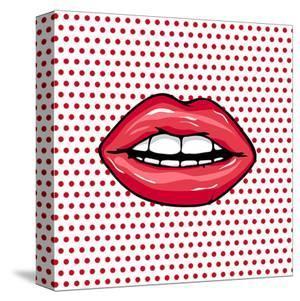 Glossy Pop Art Lips