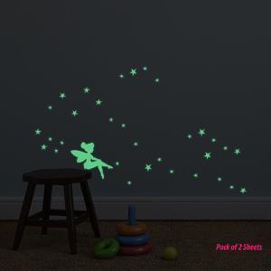 Glow in dark Fairy (Set of 2)