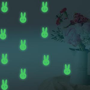 Glow in Dark rabbit glowing