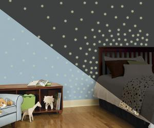 Glow in the Dark Dots Peel and Stick Wall Decals