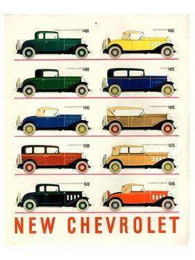 GM 10 New Chevrolet