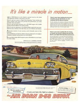 GM Air Born B-58 Buick-Miracle