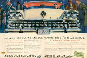 GM Buick B-58 Flight On Wheels