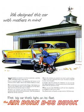 GM Buick-Car Light On Its Feet
