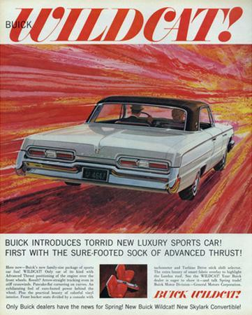 GM Buick-Wildcat Sports Car