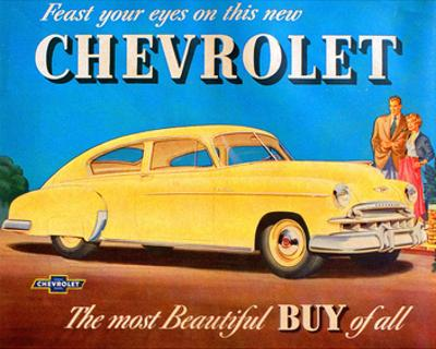 GM Chevrolet Feast Your Eyes