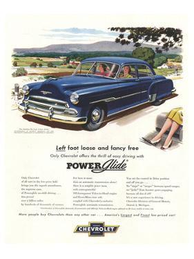 GM Chevrolet Left Foot Loose