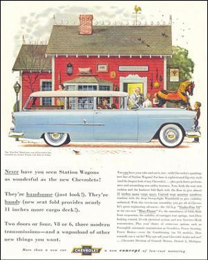 GM Chevrolet Station Wagons