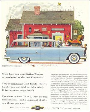 GM Chevrolet Station Wagons