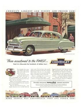 GM Chevy-Accustomed to Finest