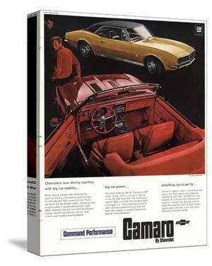 GM Chevy Camaro Big-Car Power