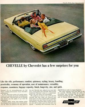 GM Chevy Chevelle Surprises