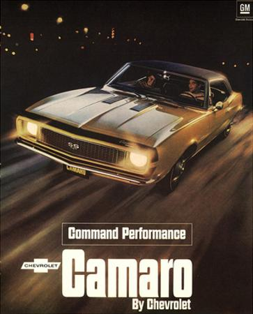 GM Chevy Comaro Performance