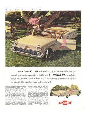 GM Chevy Serenity By Design