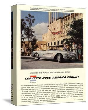 GM Corvette Does America Proud
