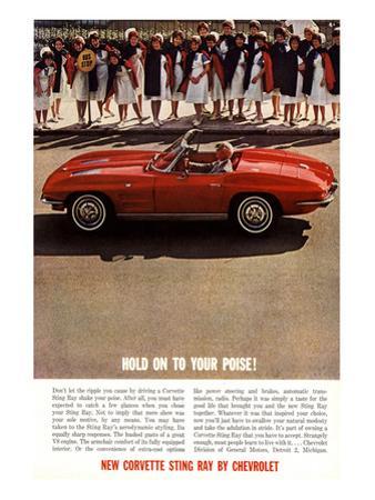 GM Corvette Hold Your Poise