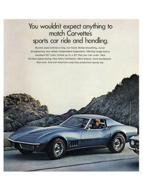 GM Corvette Sports Car Ride