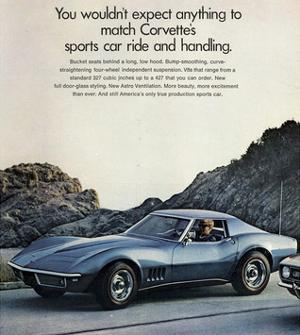 GM Corvette Sports Car Ride