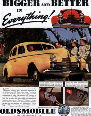 GM Oldsmobile Bigger & Better