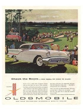 GM Oldsmobile-Check the Score