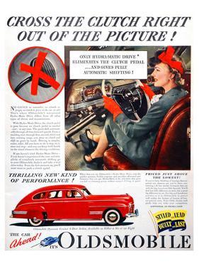 GM Oldsmobile-Cross the Clutch