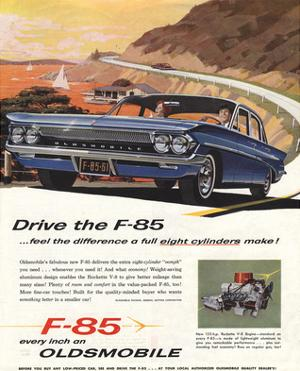 GM Oldsmobile - Drive the F-85