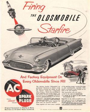GM Oldsmobile-Firing Starfire