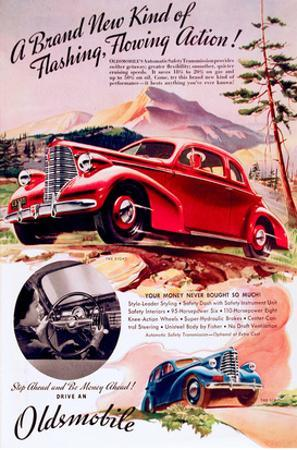 GM Oldsmobile - Flowing Action