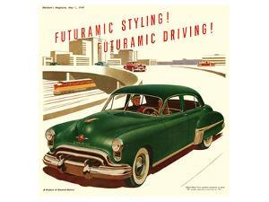 GM Oldsmobile-Futuramic Styling
